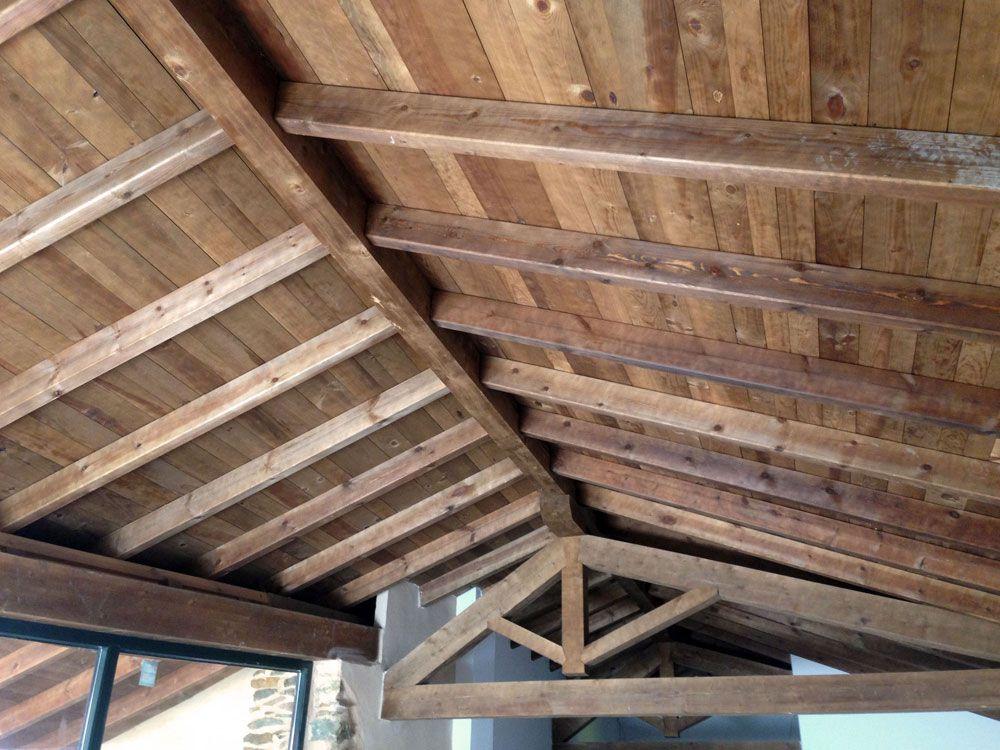 Estructuras y cubiertas de madera - Estructuras de madera para tejados ...