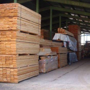 Almacén de madera en León