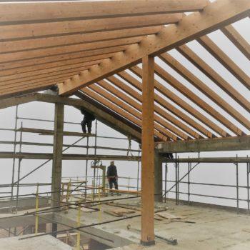 Estructuras y cubiertas de madera